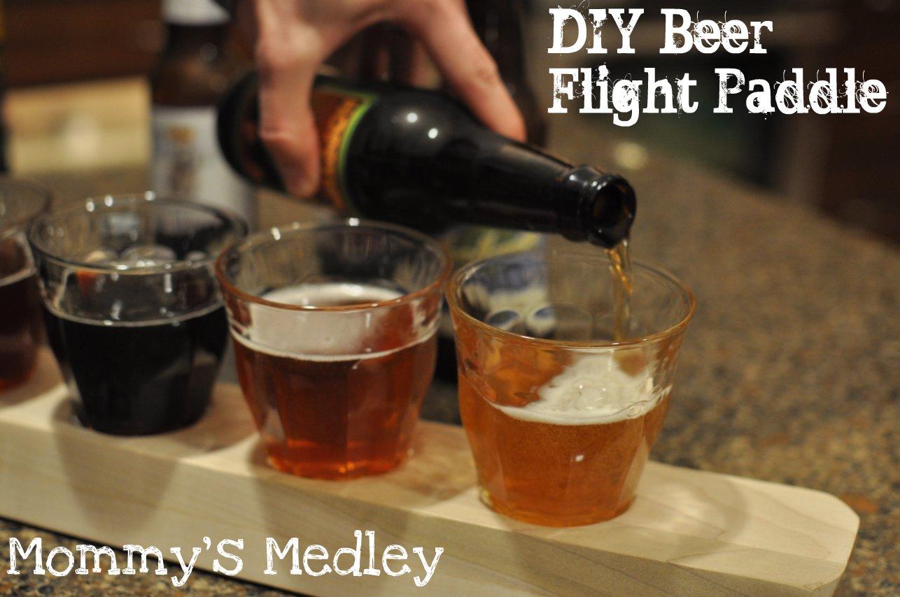 beer tasting diy flight paddle a life like art