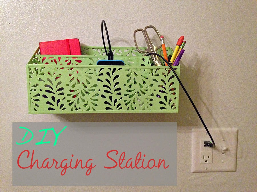 Diy charging station a life like art Diy cell phone charging station